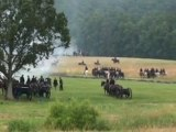 Gettysburg Civil War Reenactment, beginning of There's the