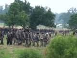 Gettysburg Civil War Reenactment, beginning Pickett's Charge