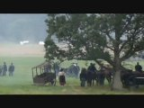 Gettysburg Civil War Reenactment - Confederate Army begins