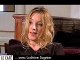 Ludivine Sagnier : le Web Café