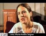 Marie-Amélie Seigner : le Divan Café
