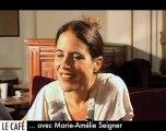 Marie-Amélie Seigner : l'Espresso