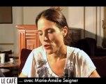 Marie-Amélie Seigner : le Web Café