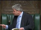 Bercow shouts at Tory MP in Parliament bust-up