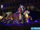 Fête des lumières 2010 à Lyon : promenade en centre-ville