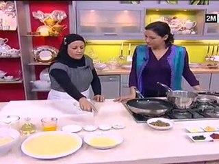 Choumicha - Harcha au foie et Soupe de légumes