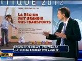 Région Ile-de-France : l'élection de Jean-Paul Huchon pourrait être annulée