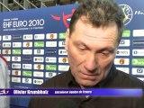 8 décembre - Euro 2010 - Réactions après France - Hongrie