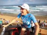 Stephanie Gilmore Wins - Four Times ASP Women's World Surfing Champion