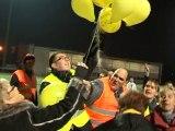 lancer de ballons de stade de Frouard Pompey (54)