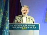 Daniel Leblay Viv(r)e la gratuité des services publics