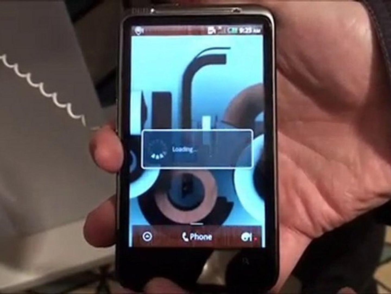 HTC Desire HD ve Desire Z ön inceleme