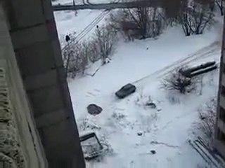 saut elastique russe