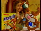 Publicité Céréales Nesquik Néstlé 1997