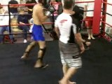 Kickboxing Classes in Houston - Muay Thai Sparring - Bob an