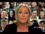 A vous de juger : Marine Le Pen débat avec Rachida Dati - P2