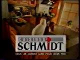 Publicité Cuisines Schmidt 1997