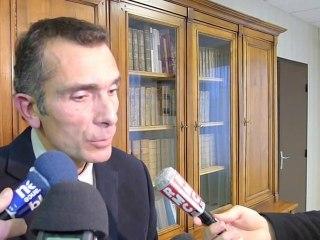 Conférence de presse Franck Rastoul, proc d'Orléans