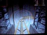 montagnes russes en 3D X15