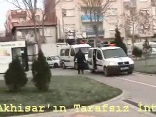 Akhisar'da gerçekleşen büyük çaplı operasyon görüntüleri