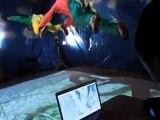 Faux saut en parachute avec les vraies images Google Earth