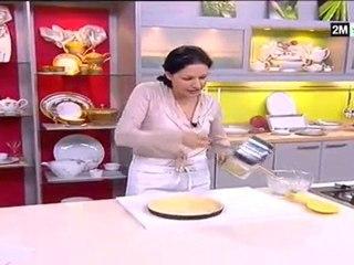 Choumicha - Shahd Al Malika : Tarte royale crème de coco