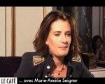 Marie-Amélie Seigner : le Café Frappé