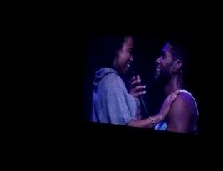 Usher prend Live un coup de pompe dans le visage