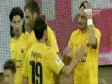 14th AEK-AEL 4-0 2010-11 Novasports highlights