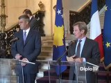DiploTV - Kouchner reçoit Hashim Thaçi