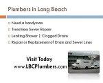 Trenchless Sewer Repair | Long Beach sewer repair