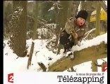 """Télézapping  : """"La neige ça chasse les microbes"""""""