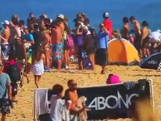 Jérémy Florès rentre dans l'histoire du Surf