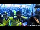 x MRI boss Darragh MacAnthony against violent street protest
