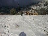 session ski 2 180 rate avec des ski de l'an 40