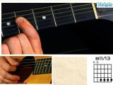 How to Play a B Eleven Thirteen (B11/B13) Chord on Guitar