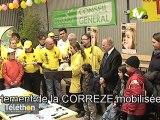 Lancement du téléthon en Corrèze au boulodrome de Brive