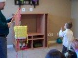 Piñata de l'anniversaire de Clément