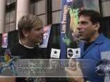 I am stylin' with Lou Ferrigno - The Incredible Hulk