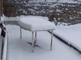 Neige à Fontaine-au-Pire