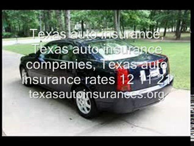 Texas auto insurance, Texas auto insurance companies, Texas
