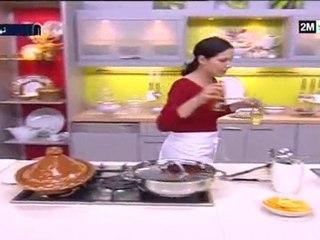 Choumicha - Tajine de poulet et viande aux navets caramélisés