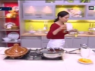 choumicha 2010 recette tajine de poulet aux pruneaux