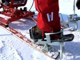 Découverte du taxi ski à Val Cenis