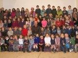 Les écoliers de Gerde chantent Noël