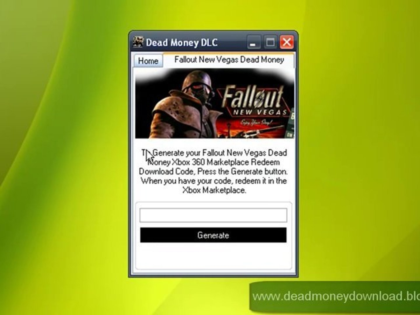 Fallout New Vegas Dead Money Free Redeem Codes