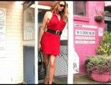 World's Tallest Model Visits Sunshine Coast Shoe Shop