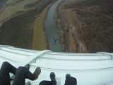 Saut de BASE du viaduc de Millau