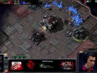 TuZeR vs SarenS - Starcraft 2 - Finale eOSL Winter '10
