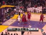 NBA 2k11: Los Angeles Lakers vs. Miami Heat - Lakers ...
